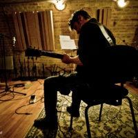 Vincent ECKERT Chanteur auteur compositeur Enregistrement Downtown Studios nouvel album Appareillons Chanson française Rock