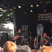 Vincent ECKERT Chanteur auteur compositeur Concert Francofolies de La Rochelle Chanson française Rock